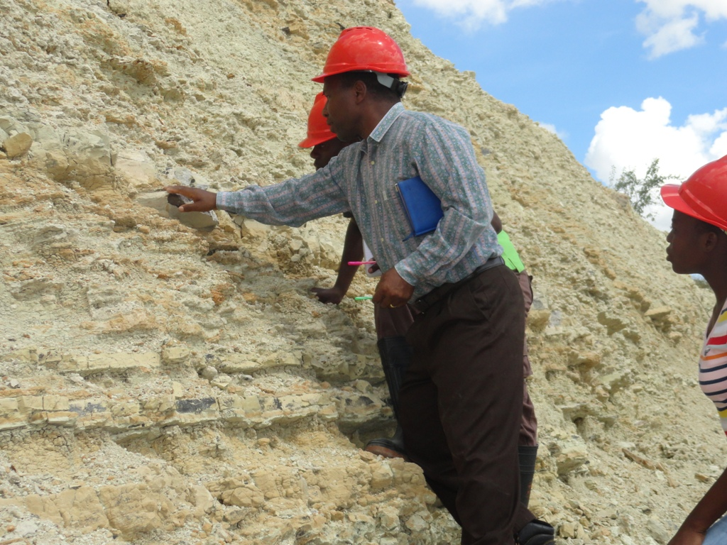 Field Work on Fossils Check By Dr Kafumu10