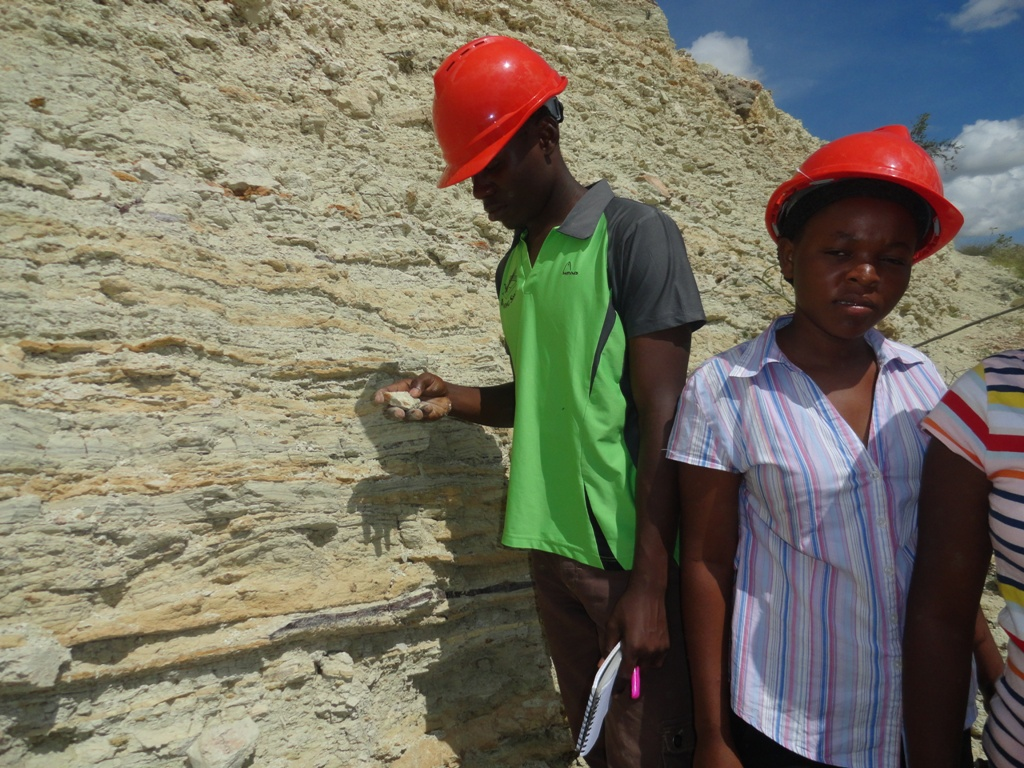Field Work on Fossils Check By Dr Kafumu3