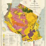 Geological Map of Tanzania-Tanganyika